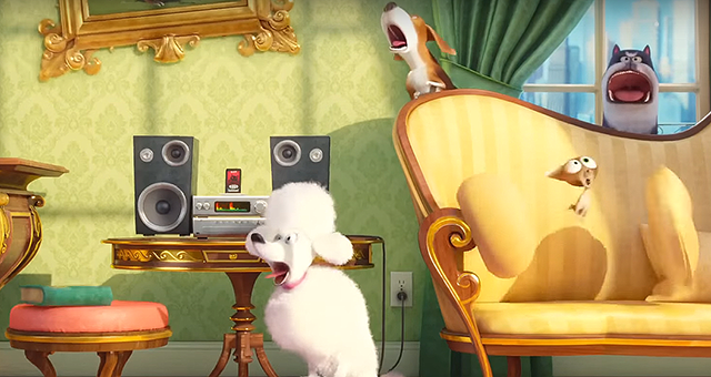 The Secret Life of Pets Movie